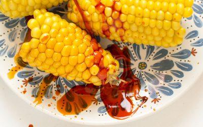 Paprikamag-olajos főtt kukorica