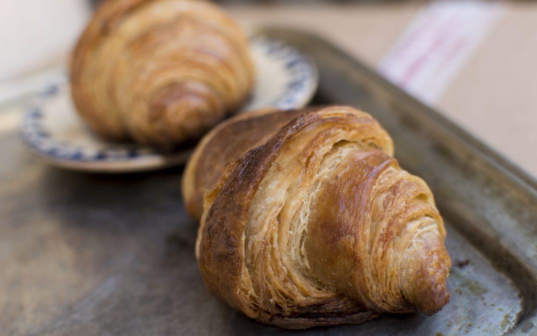 Gombapesztós croissant